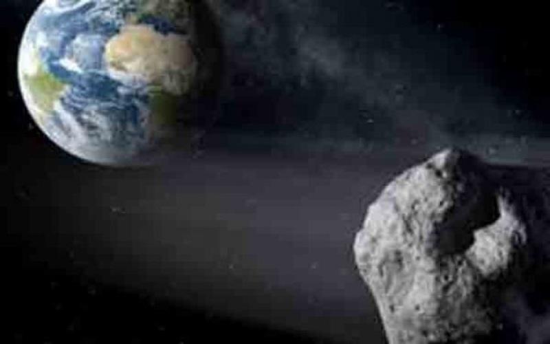 Ilustrasi asteroid. - ANTARA