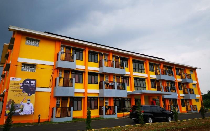 Rusun mahasiswa Universitas Siliwangi Tasikmalaya. - Kementerian PUPR