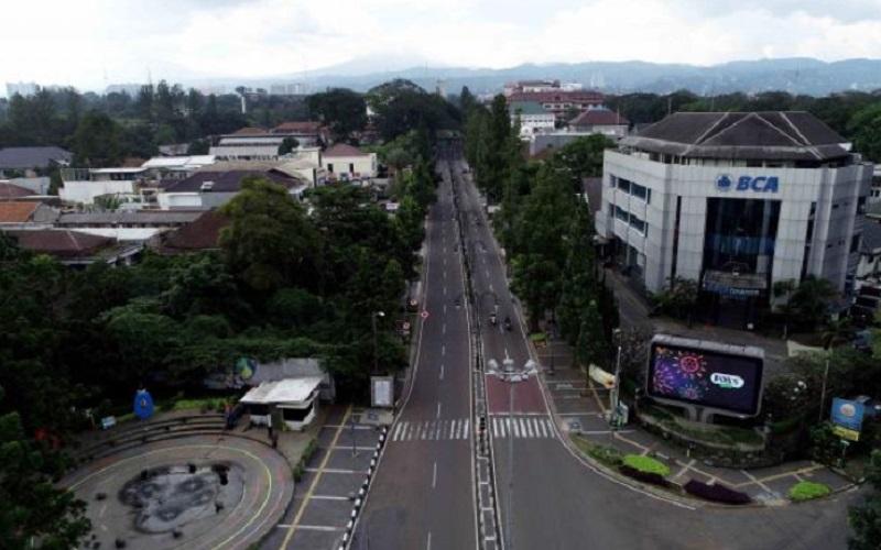 PSBB di Kota Bandung - Bisnis