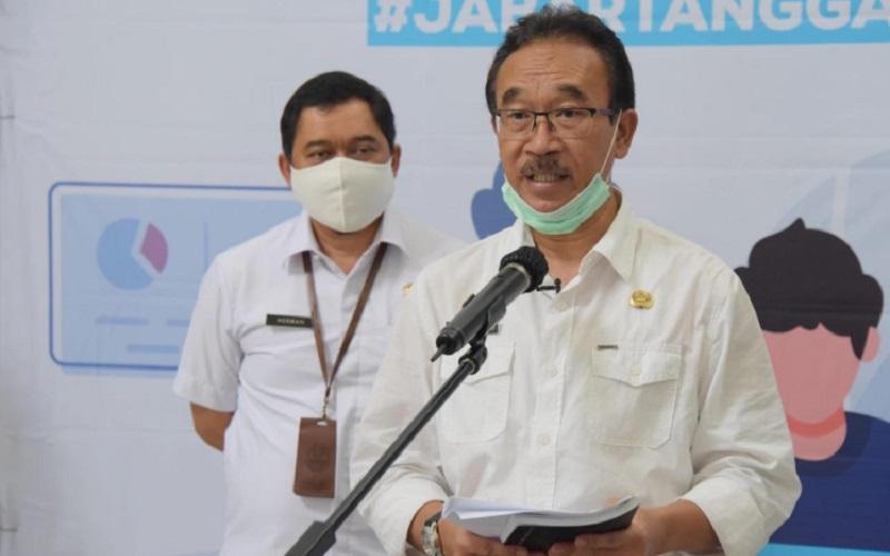 Juru Bicara Gugus Tugas Covid/19 Jawa Barat Daud Ahmad