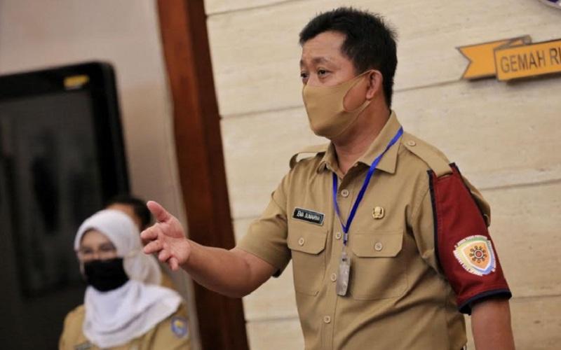 Ketua Harian Gugus Tugas Covid-19 Kota Bandung, Ema Sumarna - Bisnis/Dea Andriyawan
