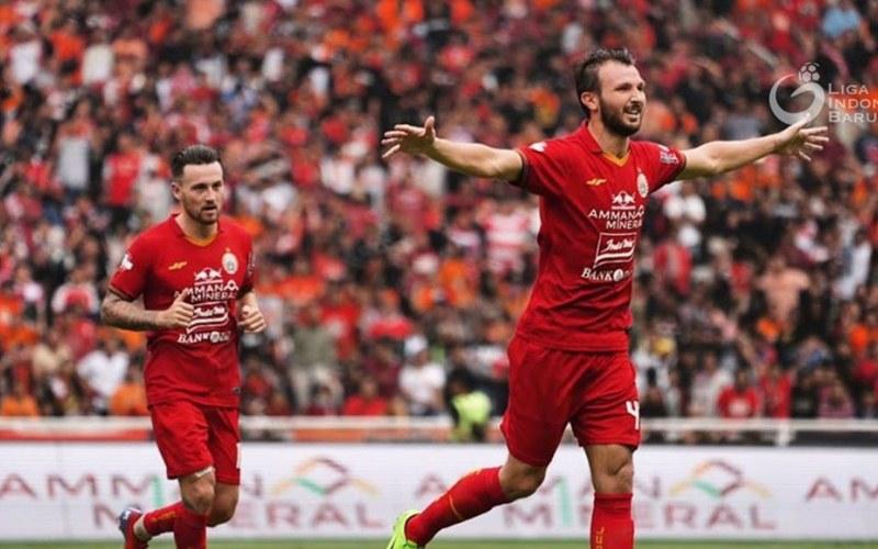 Ilustrasi-Pemain Persija, Marco Motta - Liga Indonesia