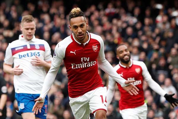 Striker Arsenal Pierre-Emerick Aubameyang - Reuters/John Sibley
