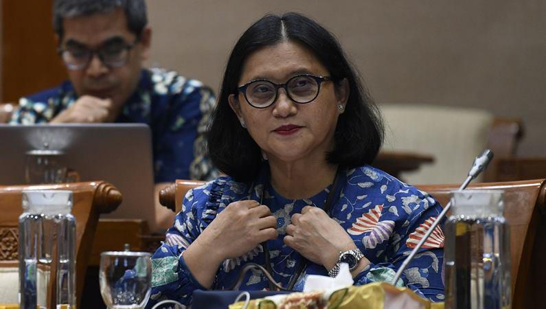 Direktur Utama PT Pertamina Hulu Energi (PHE) Meidawati mengikuti Rapat Dengar Pendapat Umum dengan Komisi VII DPR di Kompleks Parlemen Senayan, Jakarta, Selasa (4/2/2020). -  ANTARA / Puspa Perwitasari