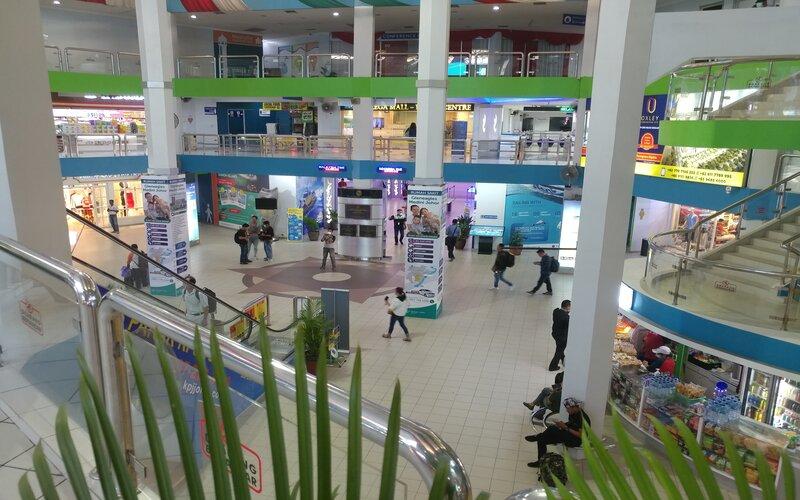 Kondisi Terminal Ferry Internasional Batam Centre beberapa waktu lalu. - Bisnis/Bobi Bani.