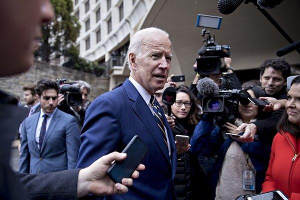 Mantan Wapres AS Joe Biden - Bloomberg