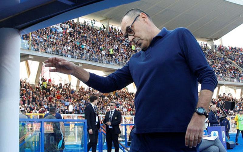 Pelatih Juventus Maurizio Sarri/Reuters - Ciro de Luca