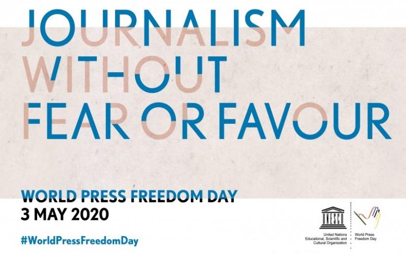 Hari Kebebasan Pers Sedunia diperingati setiap tanggal 3 Mei. - UNESCO