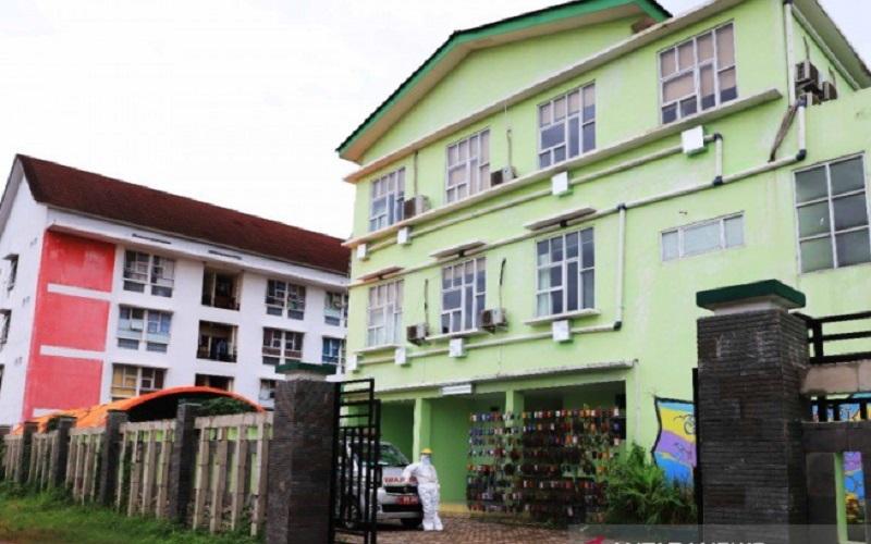 Fasilitas isolasi bagi ODP, PDP, dan OTG di Kota Tangerang. - Antara