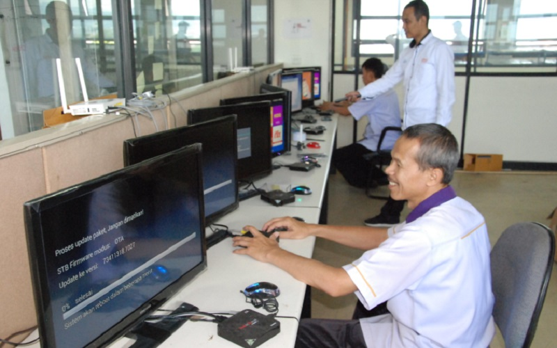 PT Industri Telekomunikasi Indonesia (Persero) alias INTI saat ini tengah menggenjot bisnis Asset Management Solutions (AMS) perangkat telekomunikasi Network Terminal Equipment (NTE) IndiHome milik PT Telkom Indonesia (Persero) Tbk. - Istimewa