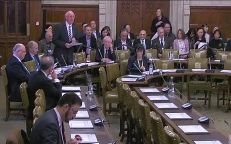 Suasana parlemen Inggris sebelum pandemi Covid-19. Kini, acara rapat parlemen digelar via zoom. - Istimewa