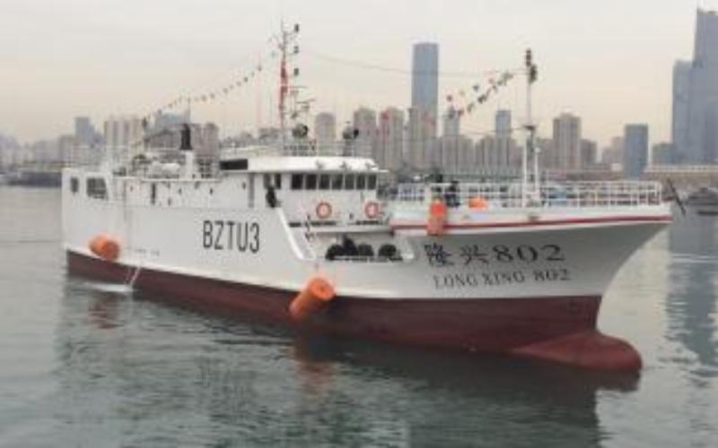 Kapal Longxing 802 milik Dalian Ocean Fishing Co., Ltd. Foto wcpfc.int