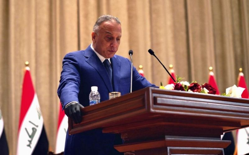 Perdana Menteri Irak Mustafa al/Khadimi/thenational.ae.