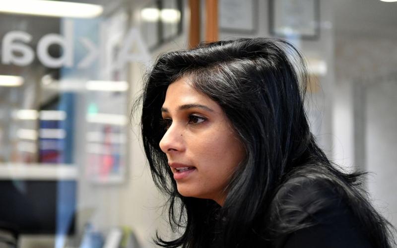 Kepala Ekonom IMF Gita Gopinath. Bloomberg.