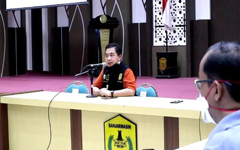 Wali Kota Banjarmasin, H Ibnu Sina.