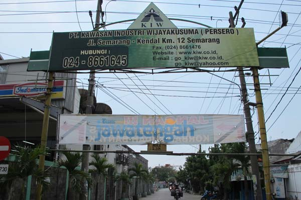 Kawasan Industri Wijayakusuma di Semarang, Jawa Tengah - Bisnis.com/Pamuji Tri Nastiti