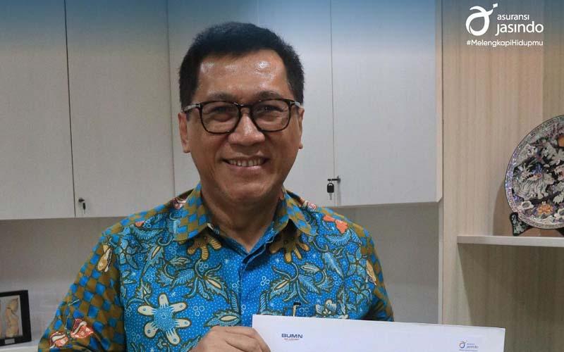 Direktur Utama Asuransi Jasindo, Didit Mehta Pariadi. - Istimewa