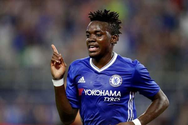 Bertrand Traore saat masih bersama Chelsea. - Reuters