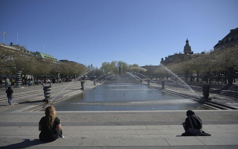 Suasana di Kungstradgarden park di Stockholm, Swedia -  Bloomberg / Mikael Sjoberg