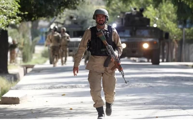 Pasukan keamanan Afghanistan./Antara - Reuters