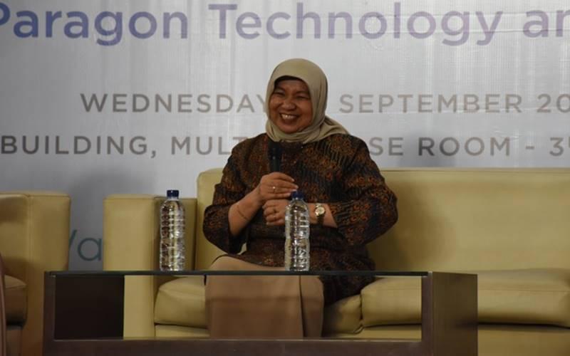 Pendiri PT Paragon Technology and Innovation Nurhayati Subakat di Gedung Center of Research and Community Service (CRCS) Institut Teknologi Bandung (ITB), Bandung, Jawa Barat, Rabu (25/9/2019). - www.itb.ac.id