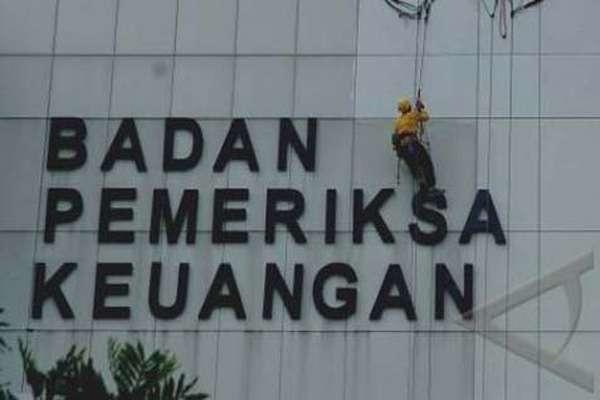 Gedung Badan Pemeriksa Keuangan (BPK). - Antara