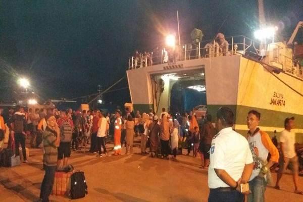 Pelabuhan Pangkal Balam di Pulau Bangka, Provinsi Babel. - Bisnis.com