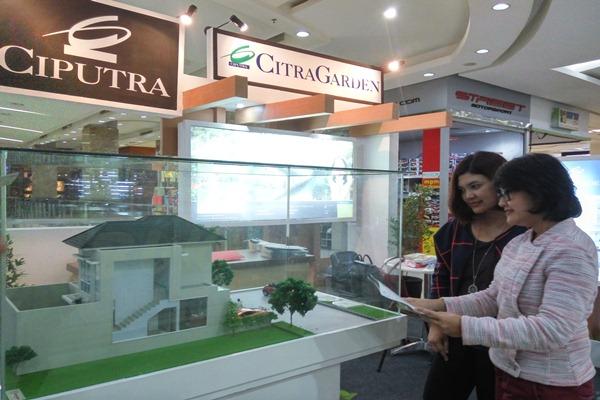 Pengembang properti PT Cahaya Fajar Abaditama (Citra Garden), grup Ciputra, gencar meluncurkan produk perumahan baru di Kota Sidoarjo, Rabu (19/10/2016) - Bisnis/Peni Widarti