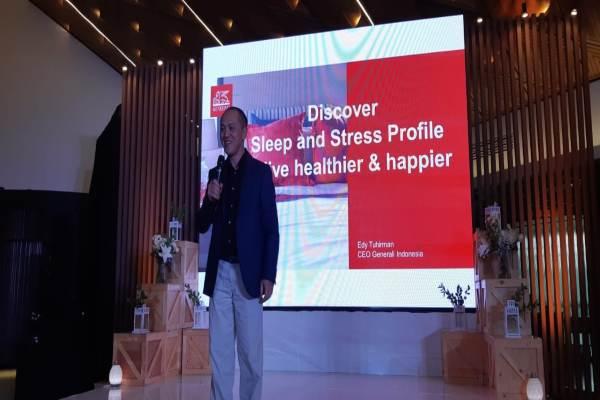 Edy Tuhirman CEO Generali Indonesia - Krizia Putri Kinanti