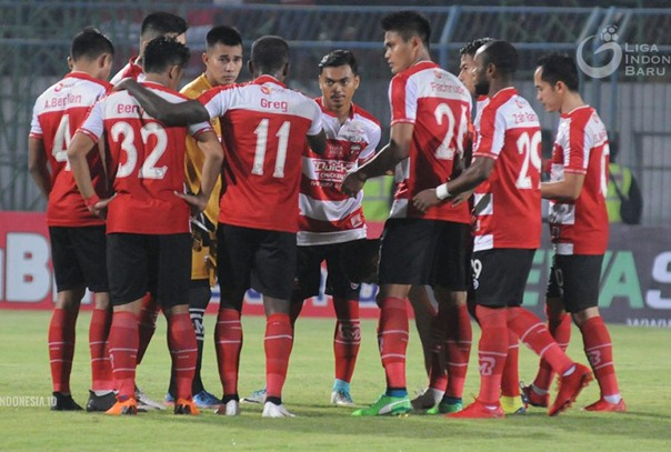 Tim Madura United - Liga Indonesia