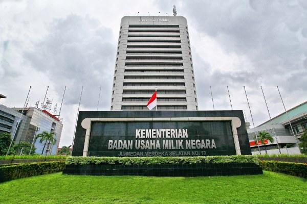 Gedung Kementerian BUMN. - Bumn.go.id