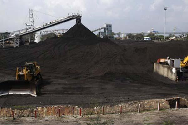Lokasi penambangan PT Bumi Resources Tbk - Reuters
