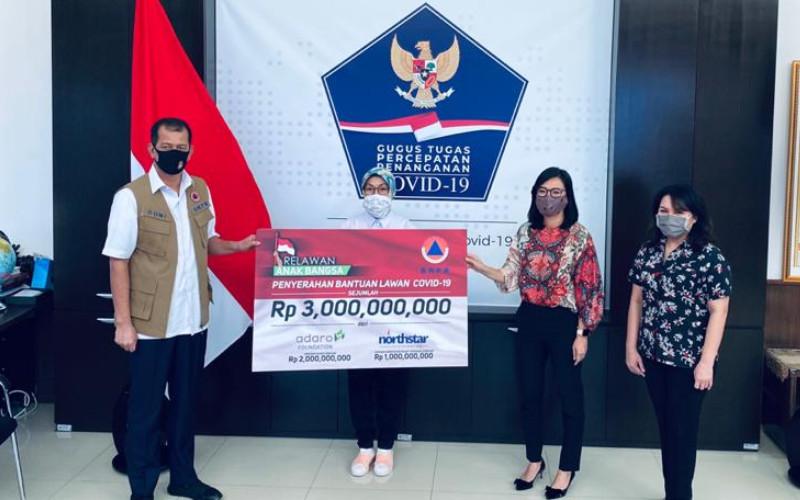 Dukungan ini merupakan hasil inisiasi pengusaha nasional, Garibaldi Thohir yang didukung berbagai perusahaan dan yayasan nasional. Adapun, donasi dikoordinasikan oleh Yayasan Wahana Artha dan Wahana Artha Group. RAB