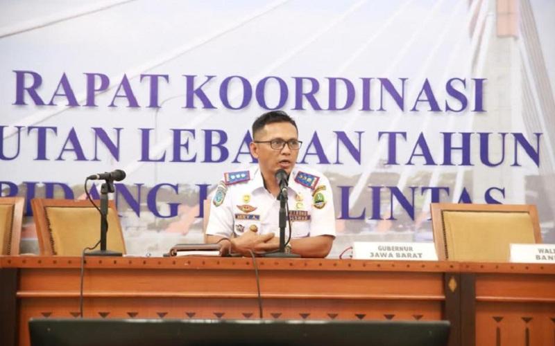 Kepala Dinas Perhubungan Jawa Barat Hery Antasari