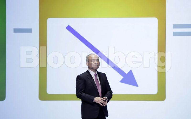 Presiden Softbank Corp Masayoshi Son.  - Bloomberg
