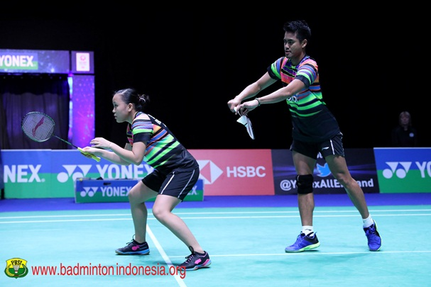 Ganda campuran Tontowi Ahmad-Winny Oktavina Kandow - Badminton Indonesia