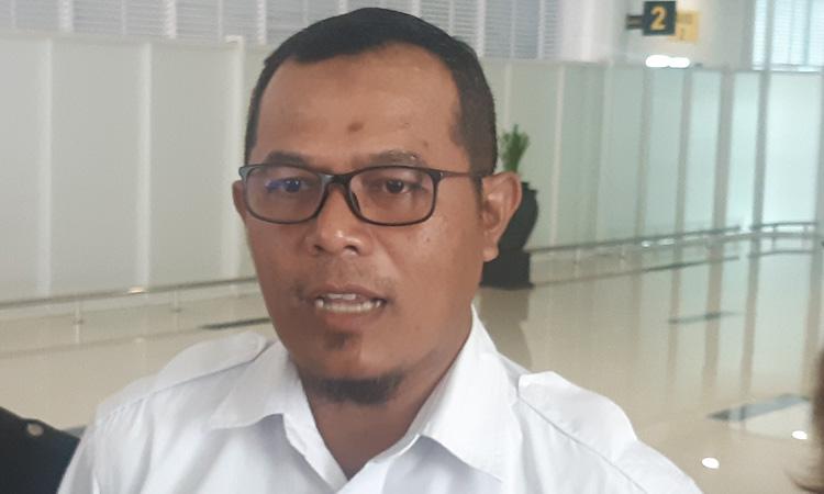 Farid Indra Nugraha, GM Bandara Sultan Aji Muhammad Sulaiman (SAMS) Sepinggan, Balikpapan. - Bisnis/Jaffry Prabu Prakoso