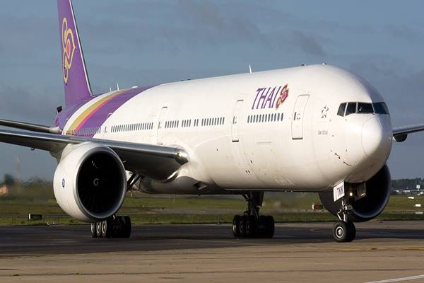 Thai Airways. - Istimewa