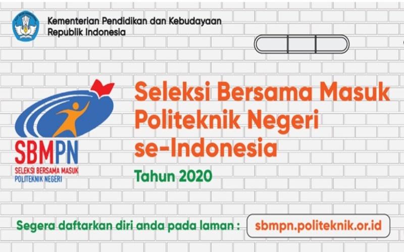 Seleksi Bersama Masuk Politeknik Negeri se-Indonesia (SBMPN) 2020. - www.sbmpn.politeknik.or.id