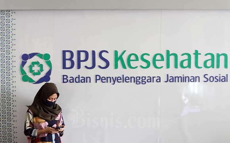 Karyawan beraktivitas di Kantor Badan Penyelenggara Jaminan Sosial (BPJS) Kesehatan, Jakarta, Rabu (13/5/2020). Bisnis - Eusebio Chrysnamurti