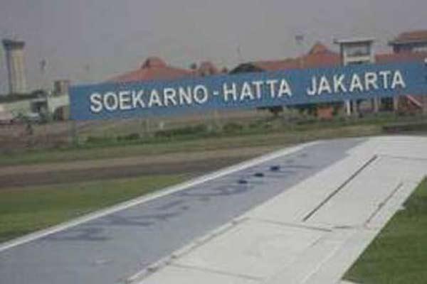 Bandara Soekarno Hatta di Tangerang.  - Bisnis.com