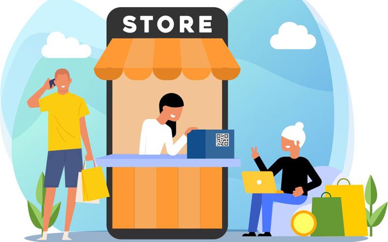 Ilustrasi berbelanja di toko daring menggunakan Kredivo. - www.kredivo.com