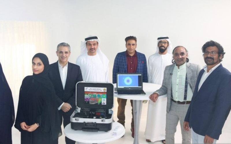 Tim QuantLase Imaging Lab UAE mengumumkan bahwa pihaknya telah mengembangkan alat tes cepat deteksi COVID-19 menggunakan teknologi laser/Antara - HO/Kedubes UAE di Jakarta