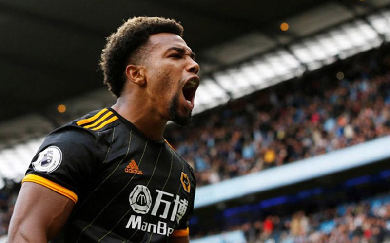 Pemain sayap Wolverhampton Wanderers Adama Traore Diarra/Reuters - Andrew Yates