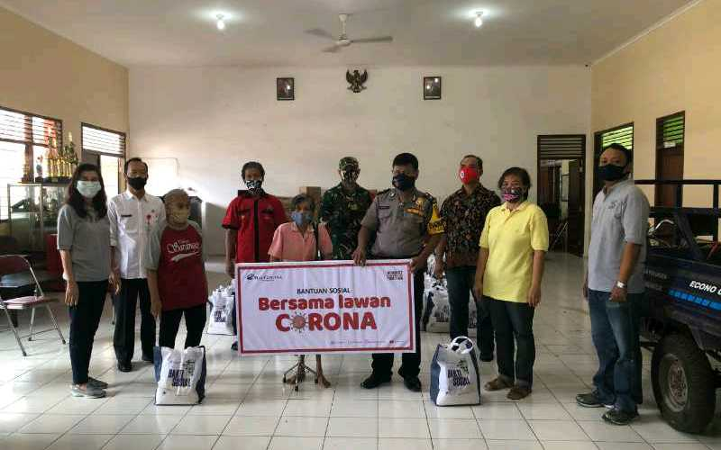 Grup Ciputra melalui salah satu proyeknya Mal Ciputra Semarang melaksanakan gerakan kepedulian sosial terkait pandemi Covid/19. Gerakan sosial ini diwujudkan melalui penyaluran bantuan 355 paket kebutuhan pokok kepada masyarakat kurang mampu di Kota Semarang.