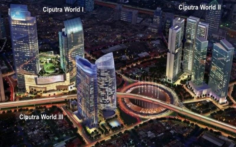 Rencana pengembangan Ciputra World Jakarta oleh Ciputra Group. - https: www.newton2ciputra.id