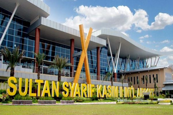 Bandara Sultan Syarif Kasim II di Pekanbaru. - Istimewa
