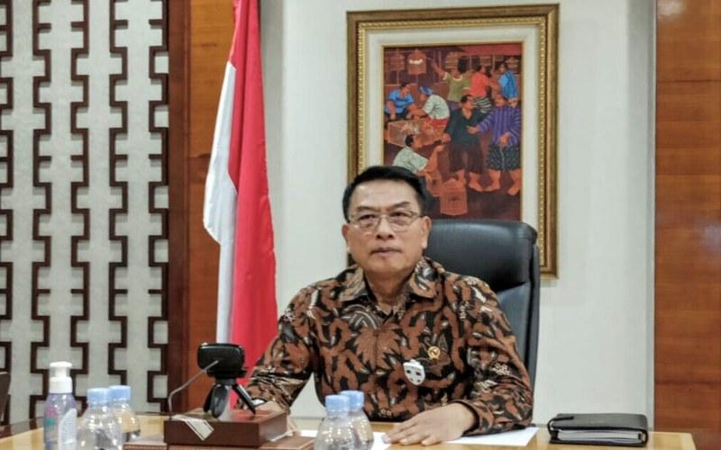 Kepala Staf Kepresidenan Moeldoko berdialog secara virtual dengan Menteri Senior Singapura Teo Chee Hean pada Jumat (22/5 - 2020).