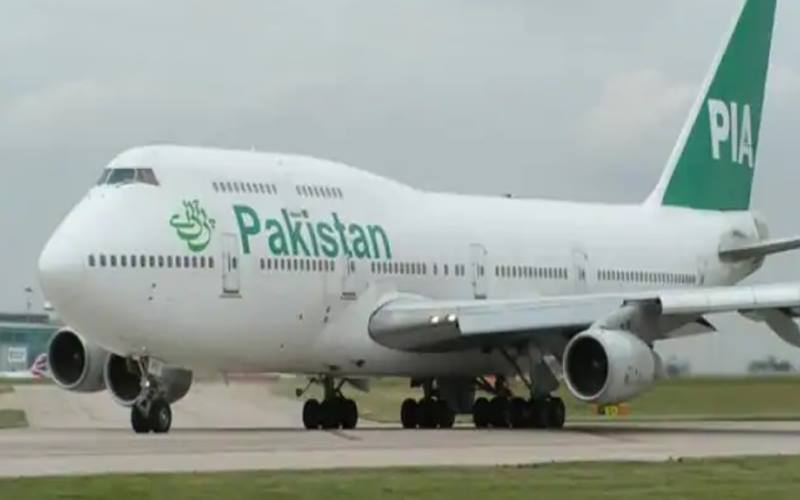 Pesawat Pakistan International Airlines. - Istimewa