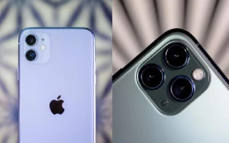 Apphle iPhone 11 (kiri) versus Apple iPhone 11 Pro. - CNET